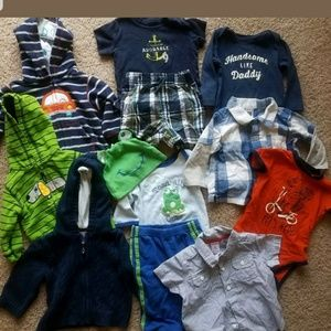 Other - 6 Month Infant Baby Boy Clothing Lot Outfits